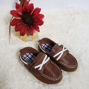 Carters Toddler Size 6 Boat Shoes Like New!